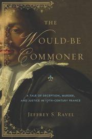 THE WOULD-BE COMMONER by Jeffrey S. Ravel