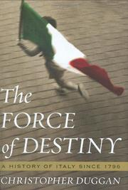 THE FORCE OF DESTINY by Christopher Duggan