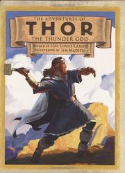 Cover art for THE ADVENTURES OF THOR THE THUNDER GOD