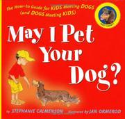 Book Cover for MAY I PET YOUR DOG
