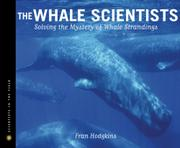Book Cover for THE WHALE SCIENTISTS