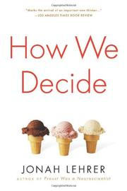 Cover art for HOW WE DECIDE