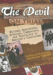 Cover art for THE DEVIL ON TRIAL