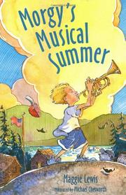 Book Cover for MORGY'S MUSICAL SUMMER