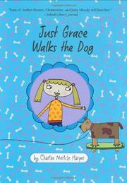 Cover art for JUST GRACE WALKS THE DOG