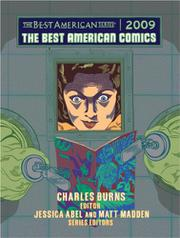 THE BEST AMERICAN COMICS 2009 by Charles Burns
