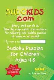 Cover art for SUDOKIDS.COM