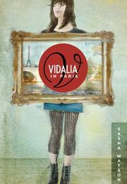 Cover art for VIDALIA IN PARIS
