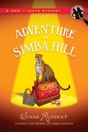Cover art for ADVENTURE AT SIMBA HILL