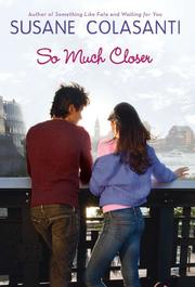 Book Cover for SO MUCH CLOSER