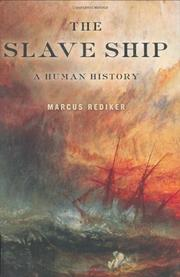 Cover art for THE SLAVE SHIP