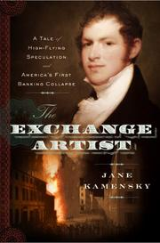 THE EXCHANGE ARTIST by Jane Kamensky