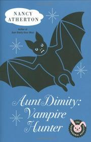 Cover art for AUNTY DIMITY: VAMPIRE HUNTER