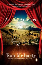 ART IN AMERICA by Ron McLarty