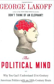 THE POLITICAL MIND by George Lakoff