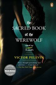Cover art for THE SACRED BOOK OF THE WEREWOLF