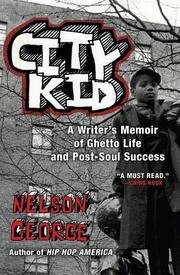 Cover art for CITY KID
