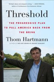 THRESHOLD by Thom Hartmann
