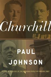 Book Cover for CHURCHILL