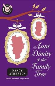 Book Cover for AUNT DIMITY & THE FAMILY TREE