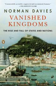 Cover art for VANISHED KINGDOMS