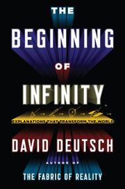 Book Cover for THE BEGINNING OF INFINITY