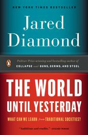 Book Cover for THE WORLD UNTIL YESTERDAY
