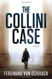 THE COLLINI CASE by Ferdinand von Schirach