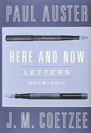 HERE AND NOW by Paul Auster