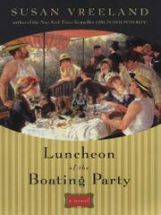 Book Cover for LUNCHEON OF THE BOATING PARTY