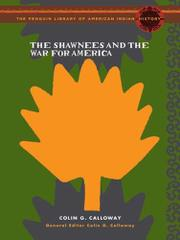 Cover art for THE SHAWNEES AND THE WAR FOR AMERICA