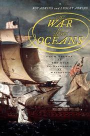 Cover art for THE WAR FOR ALL THE OCEANS