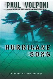 Book Cover for HURRICANE SONG