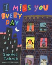 Book Cover for I MISS YOU EVERY DAY