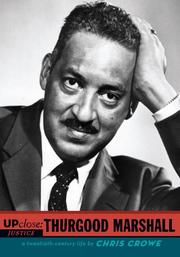 Book Cover for UP CLOSE: THURGOOD MARSHALL