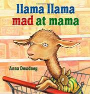 Book Cover for LLAMA LLAMA MAD AT MAMA