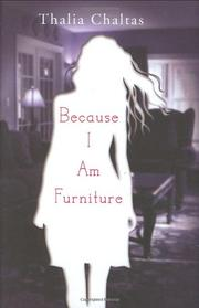 Cover art for BECAUSE I AM FURNITURE