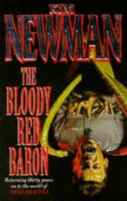Cover art for THE BLOODY RED BARON