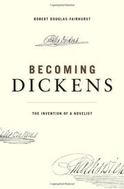 Book Cover for BECOMING DICKENS