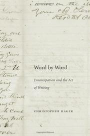 WORD BY WORD by Christopher Hager