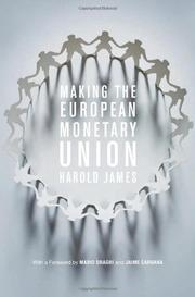 Cover art for MAKING THE EUROPEAN MONETARY UNION