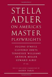 Cover art for STELLA ADLER ON AMERICA'S MASTER PLAYWRIGHTS