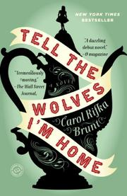 Book Cover for TELL THE WOLVES I'M HOME