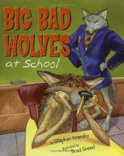 Cover art for BIG BAD WOLVES AT SCHOOL