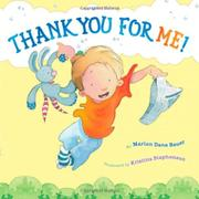 Book Cover for THANK YOU FOR ME!