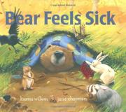 Book Cover for BEAR FEELS SICK