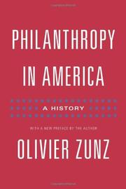 Cover art for PHILANTHROPY IN AMERICA