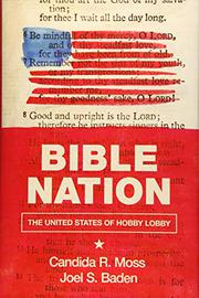 BIBLE NATION by Candida R.  Moss