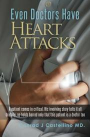Book Cover for EVEN DOCTORS HAVE HEART ATTACKS