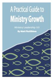Book Cover for A PRACTICAL GUIDE TO MINISTRY GROWTH